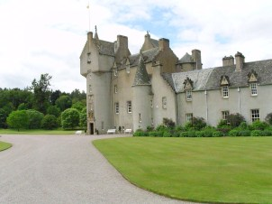 Ballindalloch Castle is our closest castle, only 5 km away.