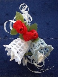Wedding Bomboniere Crochet Bells