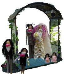 Peg & Pog and wedding attendants