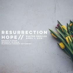 Resurrection Hope Easter Service