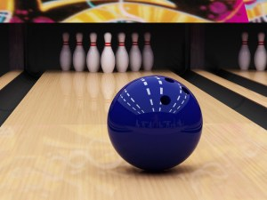 Bowling ball is invented in 1862_