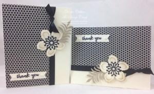 2 Gorgeous Cards (1) Sheet 6 X 6 Designer Series Paper