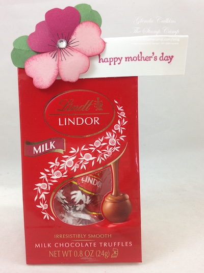Chocolates Mother's Day Pansy