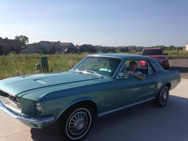 Dean's Mustang