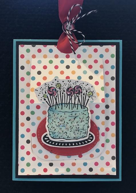 Fun Stampers Journey, glendasblog, thestampcamp, Lets Eat Cake