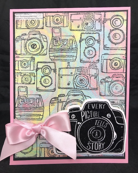 Snap Wall, Silks, Fun Stampers Journey, glendasblog