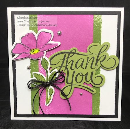 Color Splashes, Spread Happiness, Fun Stampers Journey, thestampcamp