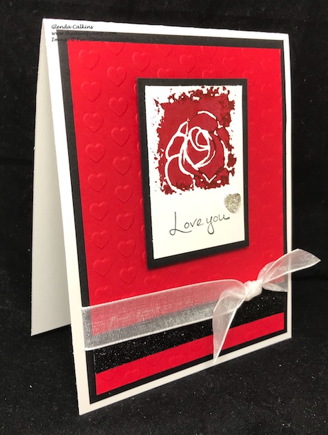 Fun Stampers Journey, Sentimental Prints, glendasblog, Silks