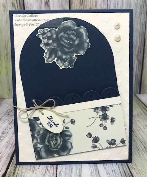 Scalloped Pocket die, Fun Stampers Journey, glendasblog, thestampcamp