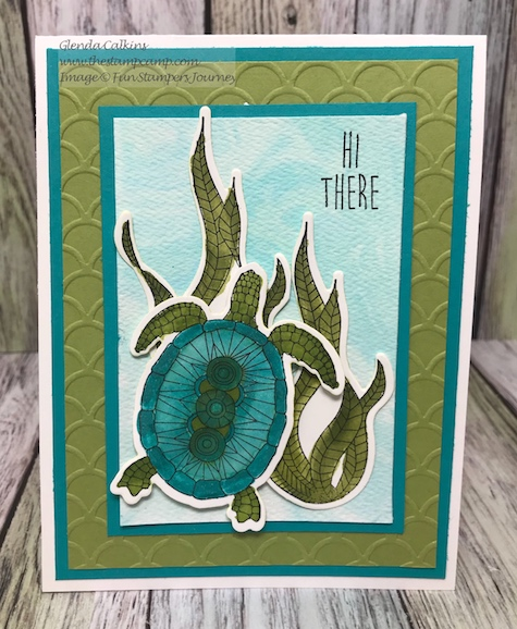 Turtley Awesome, Fun Stampers Journey, glendasblog, thestampcamp