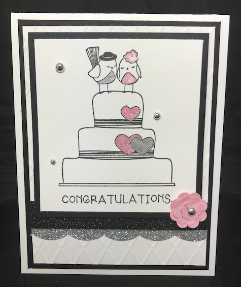 Wedding Bliss, Fun Stampers Journey, glendasblog