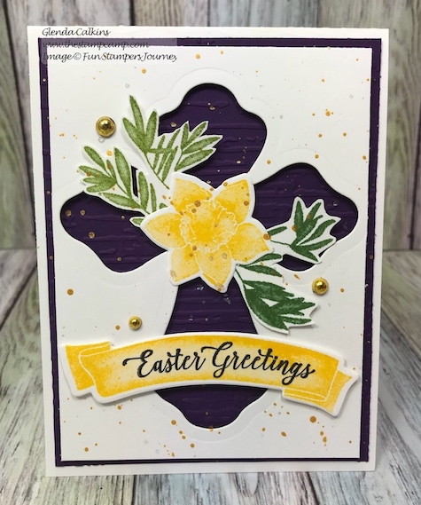 Color Cross Bundle, Hope Anchors, Fun Stampers Journey, glendasblog