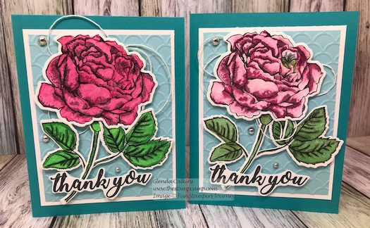 Dear Rose Bundle, Fun Stampers Journey, glendasblog, thestampcamp