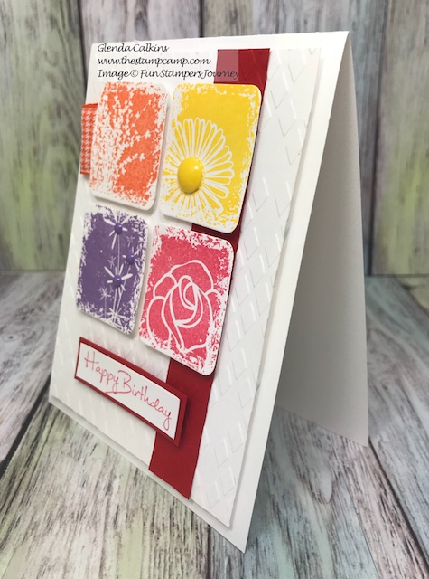 Sentimental Prints, glendasblog, thestampcamp, Fun Stampers Journey