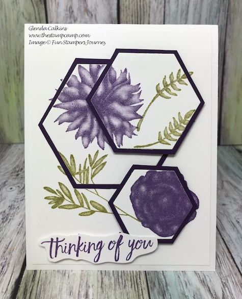 Spring Botanicals, Fun Stampers Journey, glendasblog, thestampcamp