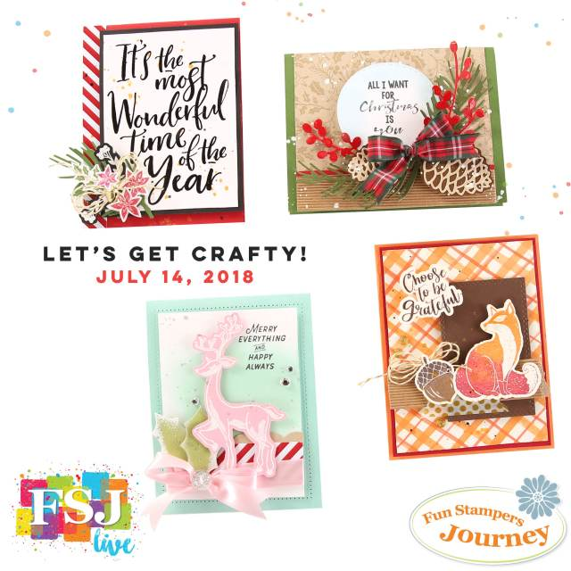Fun Stampers Journey, Holiday Trends Mini,