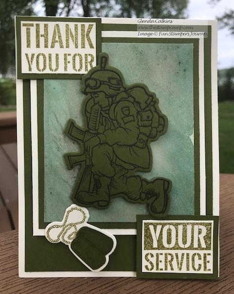 Our Hero Bundle, Fun Stampers Journey, the stamp camp, glendasblog