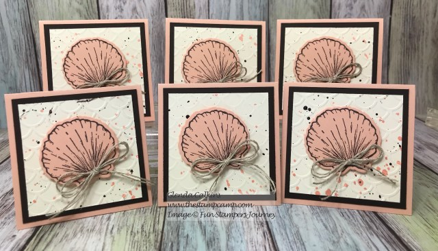 Beach Treasures, Fun Stampers Journey, glendasblog, the stamp camp