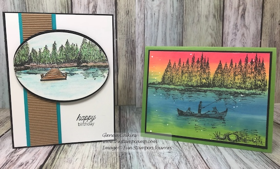 Lakeside, Fun Stampers Journey, glendasblog, the stamp camp