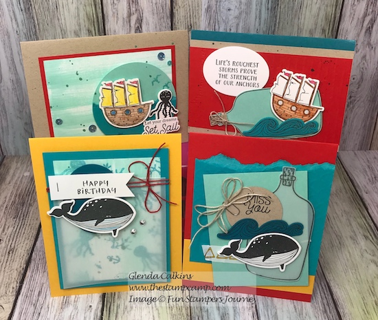 Set Sail Bloom Box, Fun Stampers Journey, glendasblog, the stamp camp