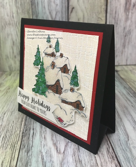 Stay Cozy, Fun Stampers Journey, glendasblog, the stamp camp