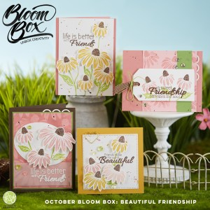 Beautiful Friendship October Bloom Box