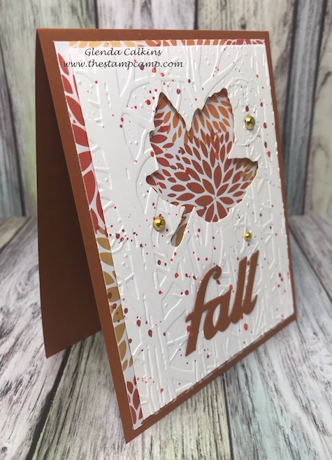 Autumn Days Die, Fun Stampers Journey, glendasblog, the stamp camp