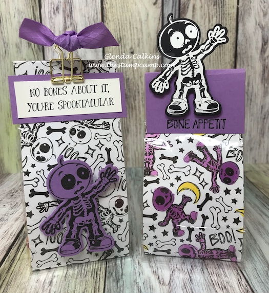 Skeletons Dance, Fun Stampers Journey, glendasblog, the stamp camp