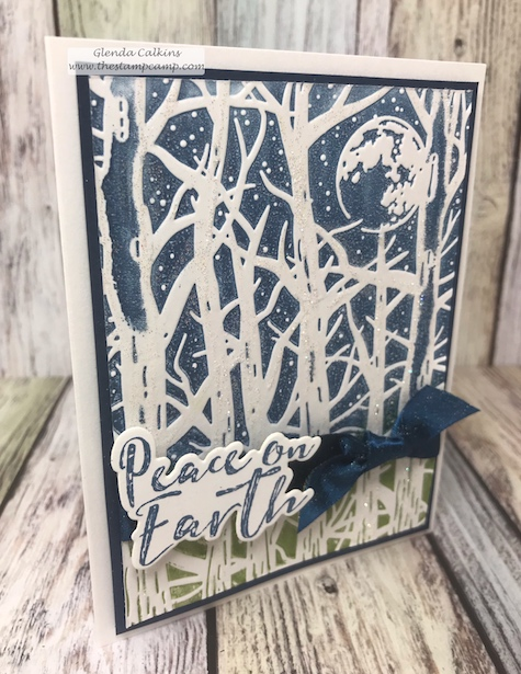 Spooky Moon, It's Cold Outside, FSJ, Fun Stampers Journey, glendasblog, the stamp camp