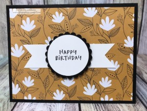 Fall-o-ween Prints from Fun Stampers Journey by Glenda Calkins