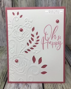 Spellbinders Rose Flourish Cut & Emboss