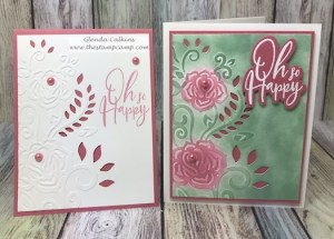 Spellbinders Cut & Emboss folders are a great way to create quick and easy cards that are just gorgeous. Details and ordering available on my blog: www.thestampcamp.com