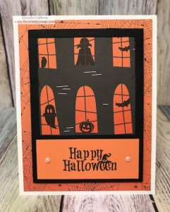 Happy Halloween Card 10 in Through the Year Prints