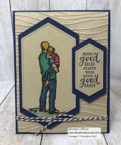 Stampin' Up! A Good Man Stamp Set