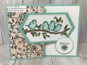 Free As A Bird Bonus Fun Fold Card