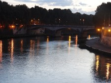 View from Ponte Cavour