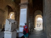 one of the entrances for the Romans