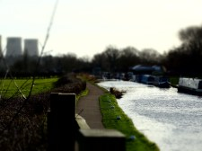 the tow path to Trent Lock