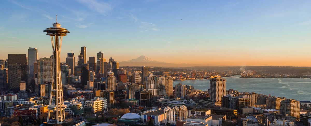 The Seattle city skyline