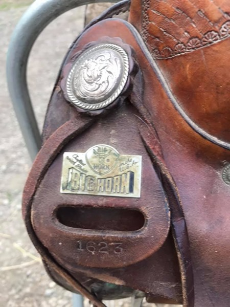 Big Horn saddle for sale