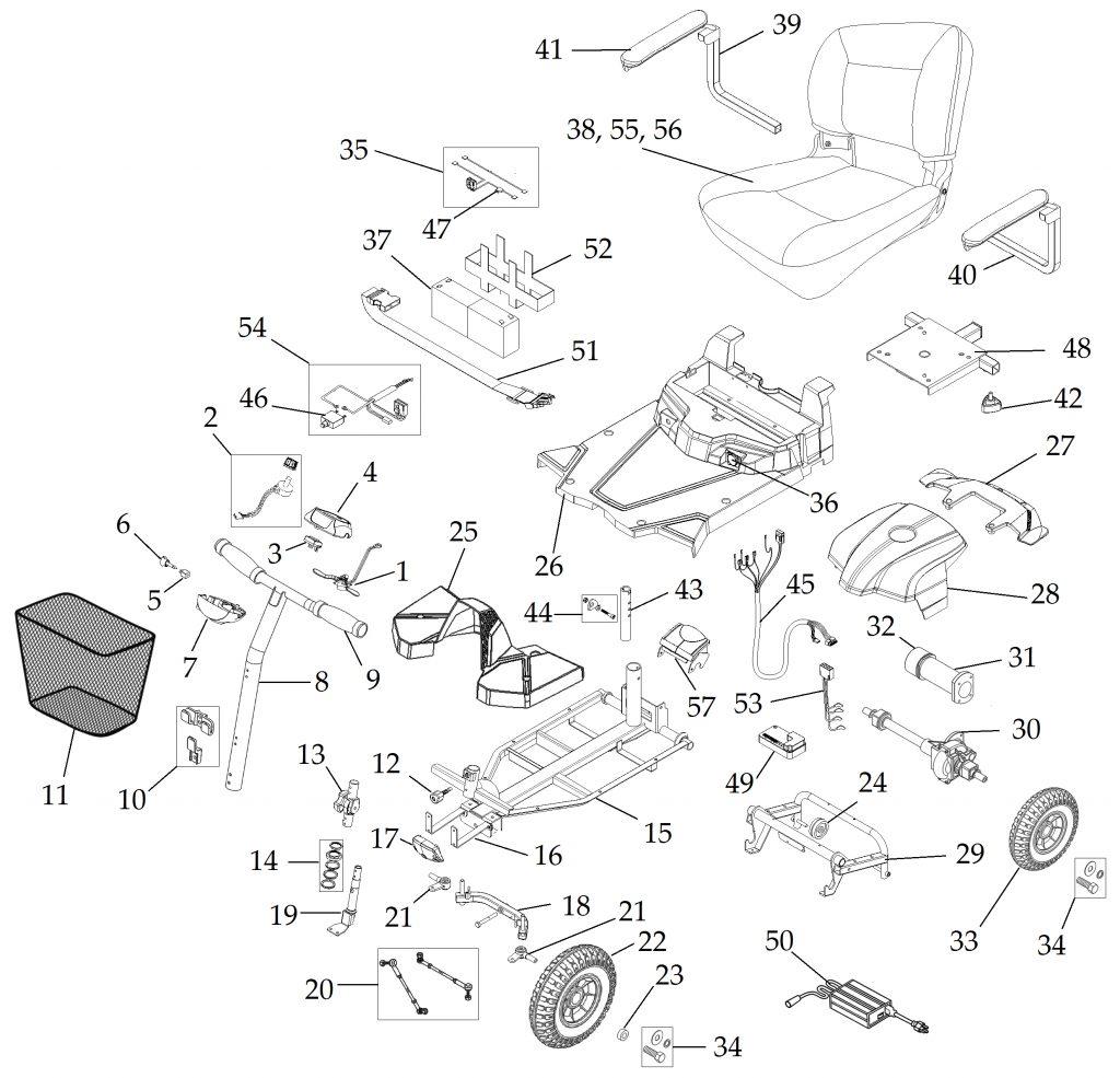 Bobcat Motor Diagram