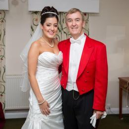 Glen Grant at a surrey wedding