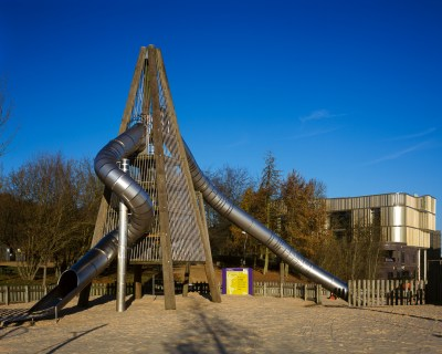 Stuart Brown Photographic - Southwater One and Rocket Slide, Telford - Architectural Exteriors