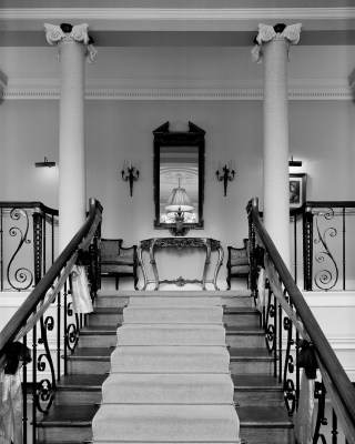 Staircase at Kirklees Hall in Brighouse Yorkshire