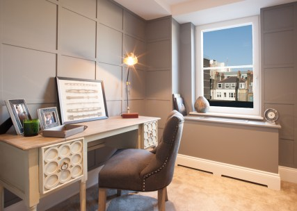 Study in London Apartment