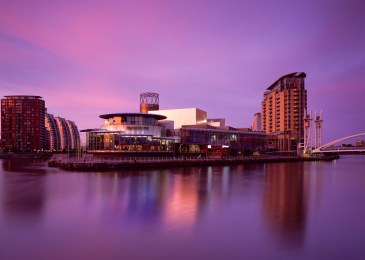 Architectural Exteriors - The Lowry Centre, Salford Quays Manchester - Stuart Brown Photographic
