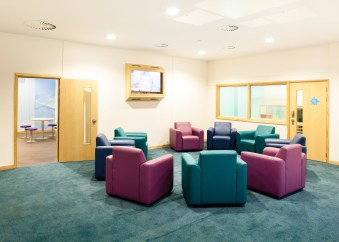 Mental Health Care Home - Group Therapy Room