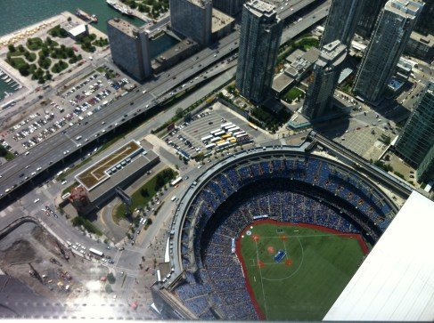 Ted Rogers sports circle thing.