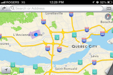 Airport to downtown is much like Montréal.