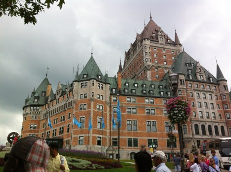 It was a bit weird to find Chateau Frontenac was just built to be a hotel.
